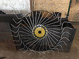 Сеноворошилка Солнышко на 3 колеса ТМ АРА (одна точка, мототрактор), фото 10