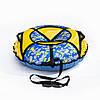 Тюбинг надувные санки, ватрушка. Диаметр 120 см, фото 6