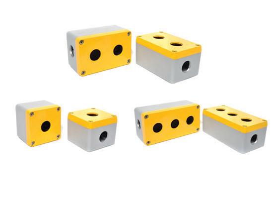корпус кнопочного поста КП метал алюминиевый одинарный одиночный двойной тройной на 4 поста четырехпостовой на пять 5 постов на шесть 6 постов на 2 кнопки 3 кнопки 5 дырок IP67