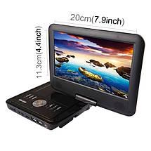 Портативний ТВ DVD-плеєр NS-913 9-дюймовий, фото 2