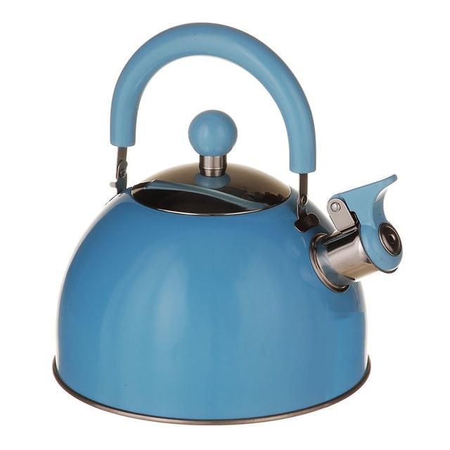 Чайник для газовой плиты 2 л. (Голубой)