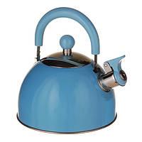Чайник для газовой плиты 2 л. (Голубой), фото 1