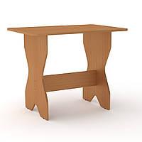 Стол обеденный КС-1 прямоугольный компактные кухонные столы 60х90х72 см бук Компанит