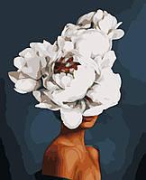 Картина рисование по номерам Елегантна квітка PNX0533 Artissimo 50х60см розпис за номерами набір, фарби,