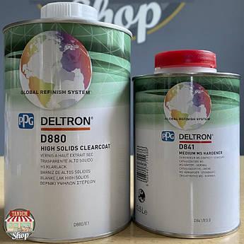 Лак полиуретановый PPG Deltron D880 2:1 HS, 1 л + 500 мл Комплект