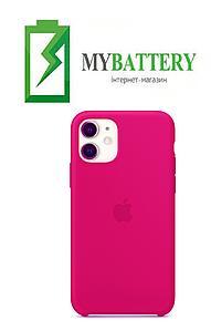 Чехол Silicone Case original (чехол-бампер) iPhone 11 розовый (48)