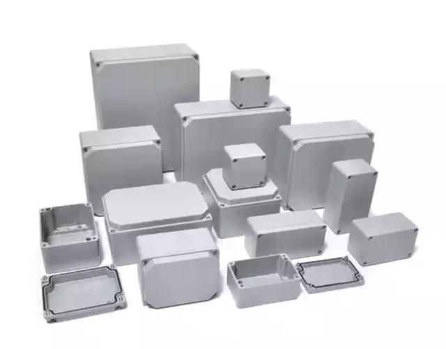 Алюминиевый распределительный ящик, коробка алюминиевая, корпус герметичный , бокс, ответвительная коробка класс защиты IP67