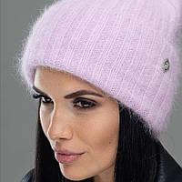 Жіноча зимова шапка з ангори
