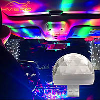 Светящийся USB LED шар с OTG переходниками: Micro USB, USB Type C, iPhone.