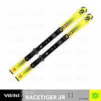 Детские лыжи Volkl Racetiger JR 130 vMotion 2021 желтые 120465-130, фото 1