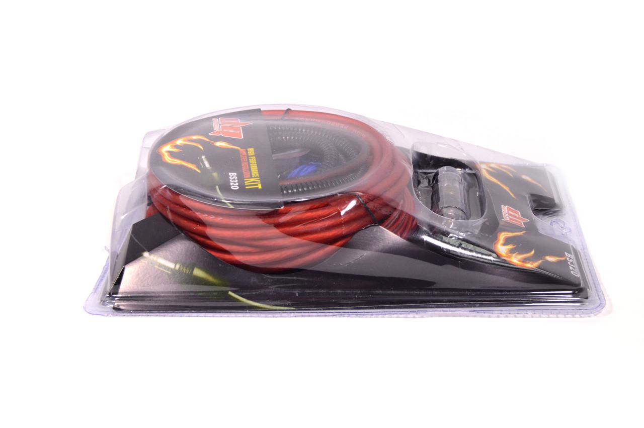 Комплект проводов BS320 для подключения усилителей или сабвуферов до 1800 Вт
