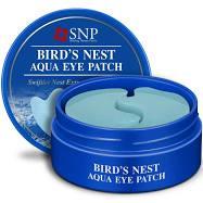 Гидрогелевые патчи для век SNP Bird's Nest Aqua с экстрактом ласточкиного гнезда