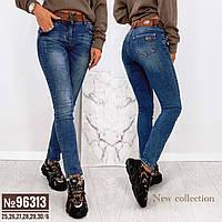 Жіночі джинси з поясом 96313