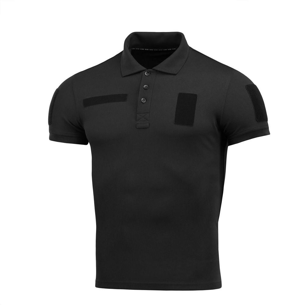 M-Tac поло тактическое Polyester Black