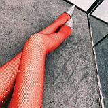 Оригинальные чулки со стразами эротическое белье сексуальное белье, фото 2