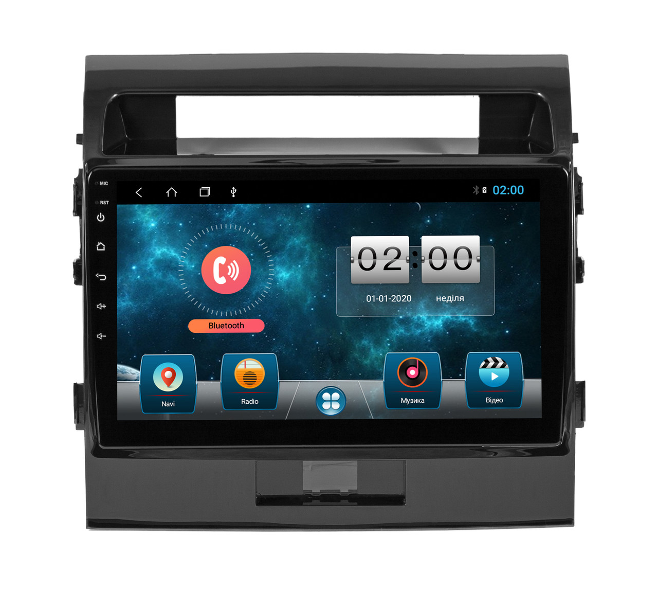 Штатная магнитола SoundBox SBM-8910 DSP для Toyota Land Cruiser 200 2008-2015