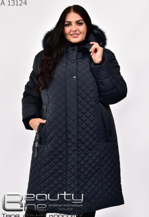 Женская зимняя куртка в большом размере Украина Размеры: 58.60.62.64.66.68.70.72.74