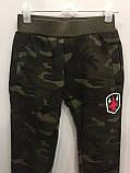 Утепленные спортивные штаны для мальчика 98,104,110,122 см, фото 2