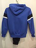 Теплый спортивный костюм для мальчика 152 см, фото 2