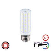 Лампа светодиодная Horoz Electric CORN-4 LED 4Вт 360Лм E27 4200К нейтральный свет (001-062-0004-030), фото 1