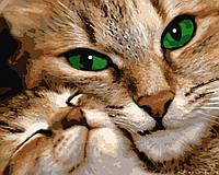Картина рисование по номерам Матусина любов PN1545 Artissimo 40х50см розпис за номерами набір, фарби, пензлі,