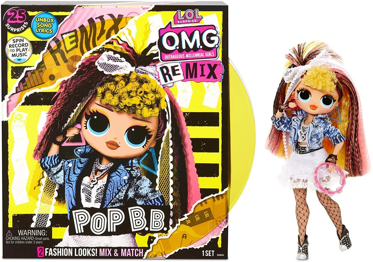 Кукла ЛОЛ ОМГ Диско Леди L.O.L. Surprise! O.M.G. Remix Pop B.B.