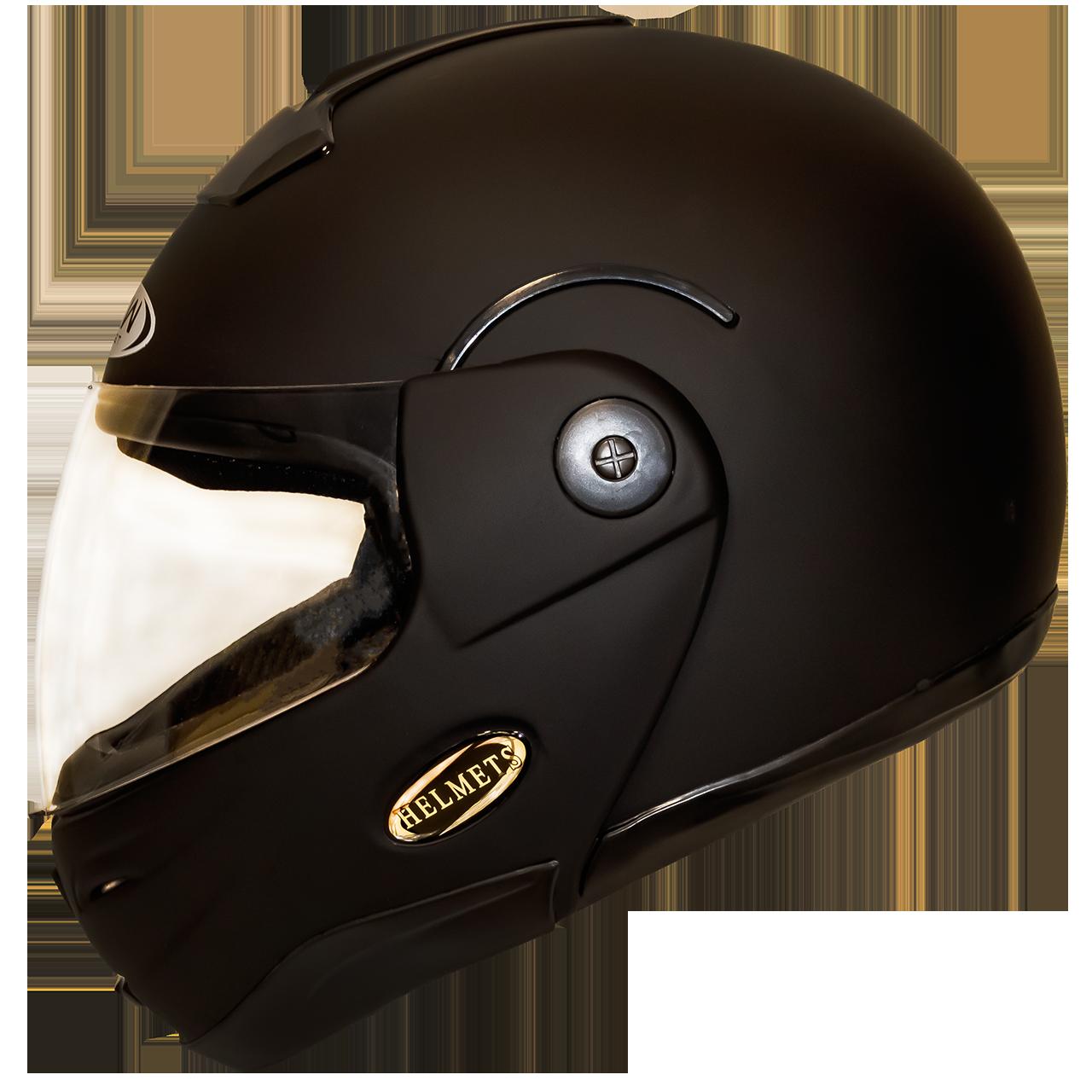 Мотошлем HF-108 matte black шлем трансформер, Flip-Up модуляр матовый чёрный