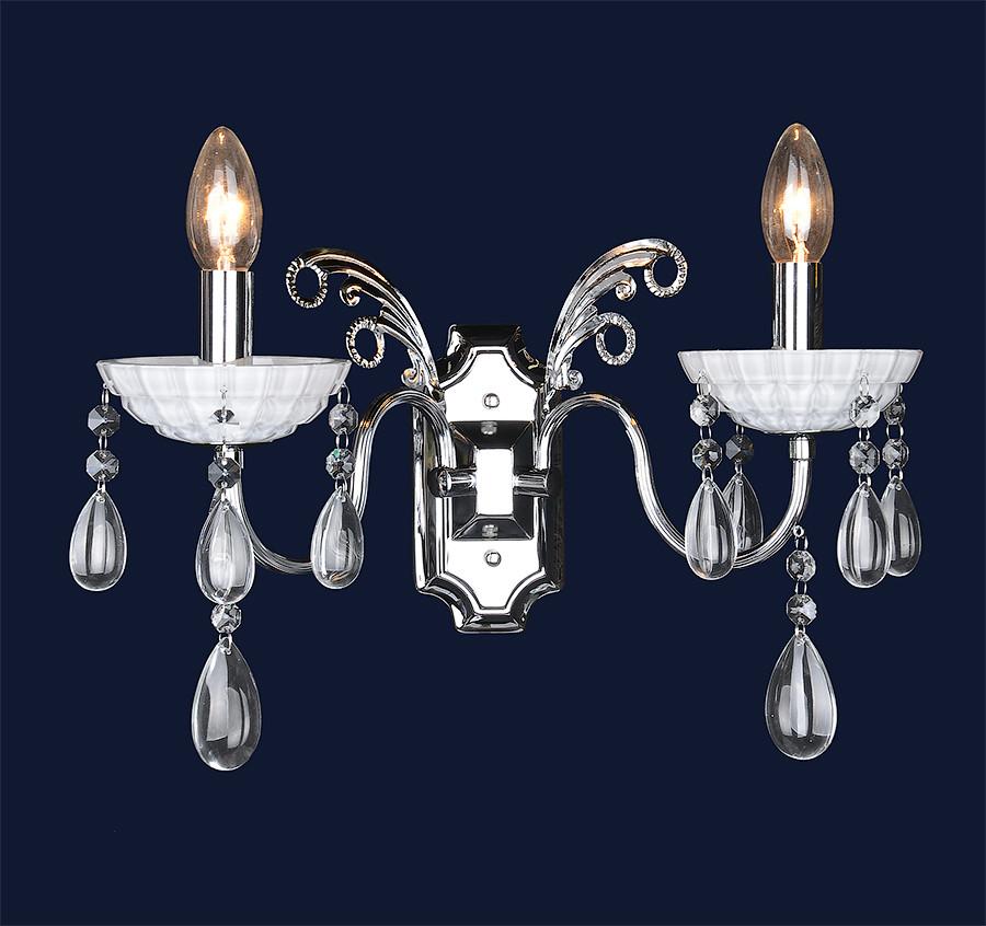 Настенный светильник в классическом стиле 702W1365-2 CR