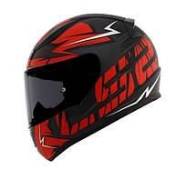 Мото шлем LS2 FF353 RAPID CROMO red matt