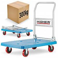 Транспортний візок платформа Higher 300 кг