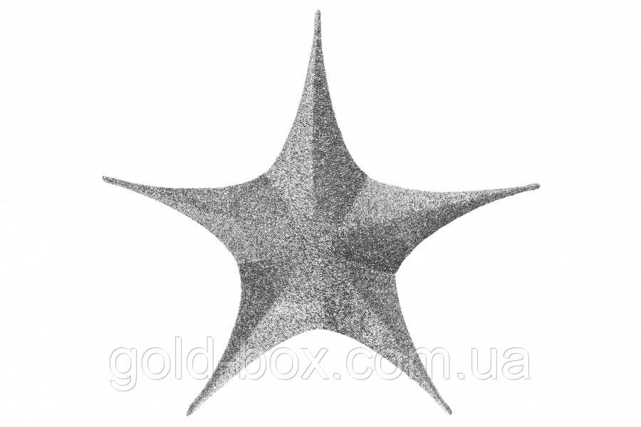 Звезда декоративная 65 см