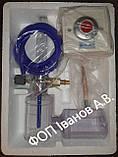 Флоуметр с настенной розеткой (din) (Увлажнитель кислорода Y-002 с розеткой в комплекте), фото 2