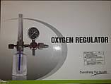 Флоуметр с настенной розеткой (din) (Увлажнитель кислорода Y-002 с розеткой в комплекте), фото 8