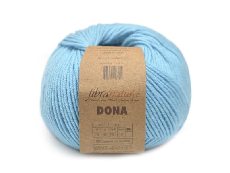 FibraNatura Dona, Бирюзовый №106-19