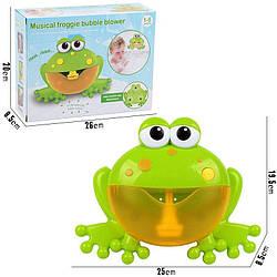 Игрушка для купания в ванной музыкальная Лягушка
