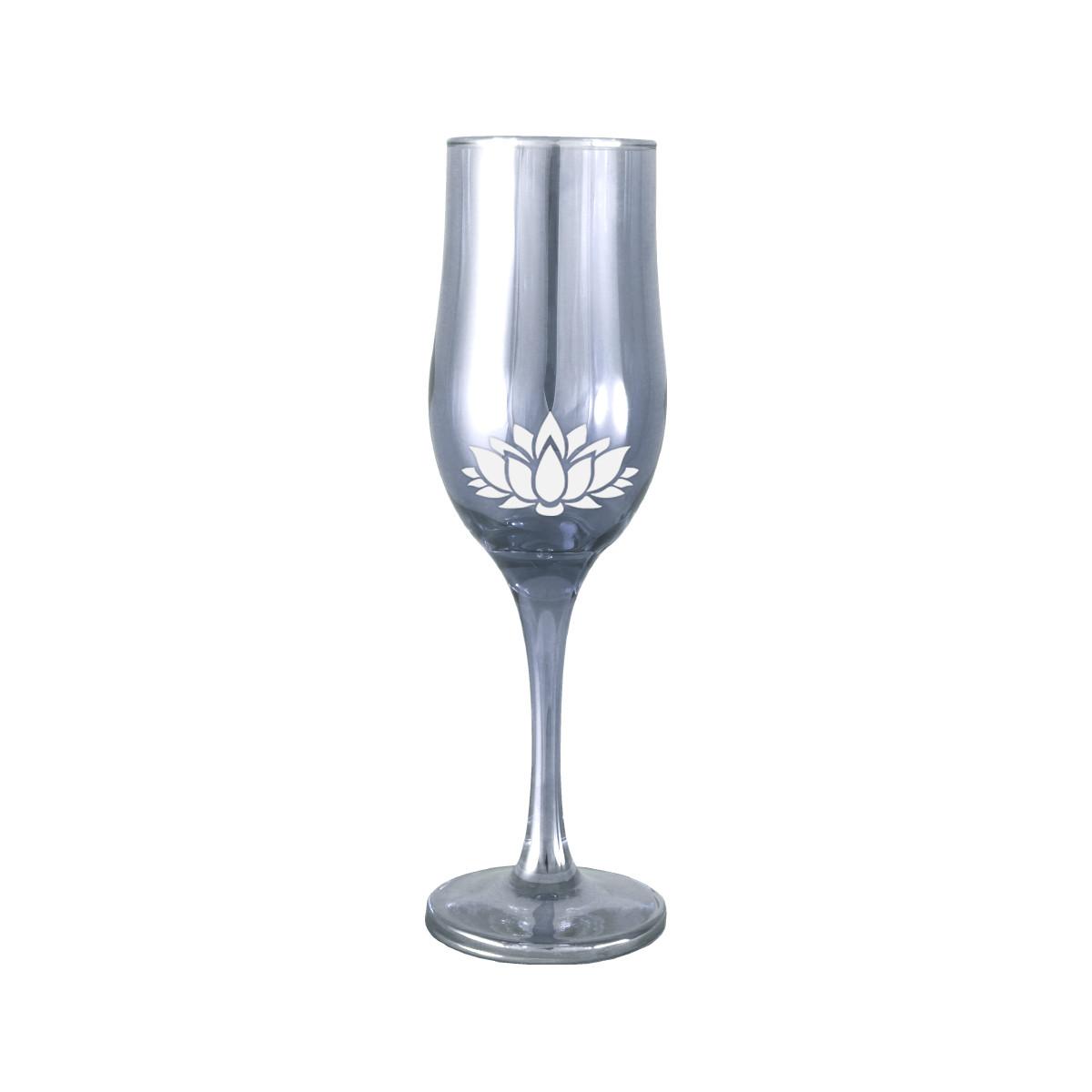 """Набор бокалов шампанского """"Лотос"""" 190мл 6шт."""