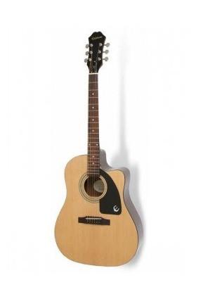 Електро-акустична гітара EPIPHONE AJ-100CE (PASSIVE) NATURAL CH HDWE
