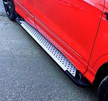 Подножки на Renault Captur (c 2013---) Рено Каптур PRS