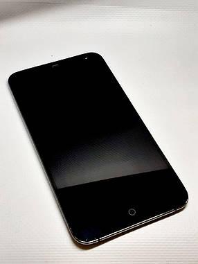 Модульный дисплей черный Meizu MX3 оригинал б.у., фото 2