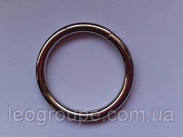 Кільце металеві для труби 16 мм(внутю25мм) хром