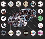 Авто клипса зажим Mercedes Benz W211 W203 W204 W210 W124 AMG W202 CLA W212 W220 W205 W201 A Class GLA W176 CLK, фото 4