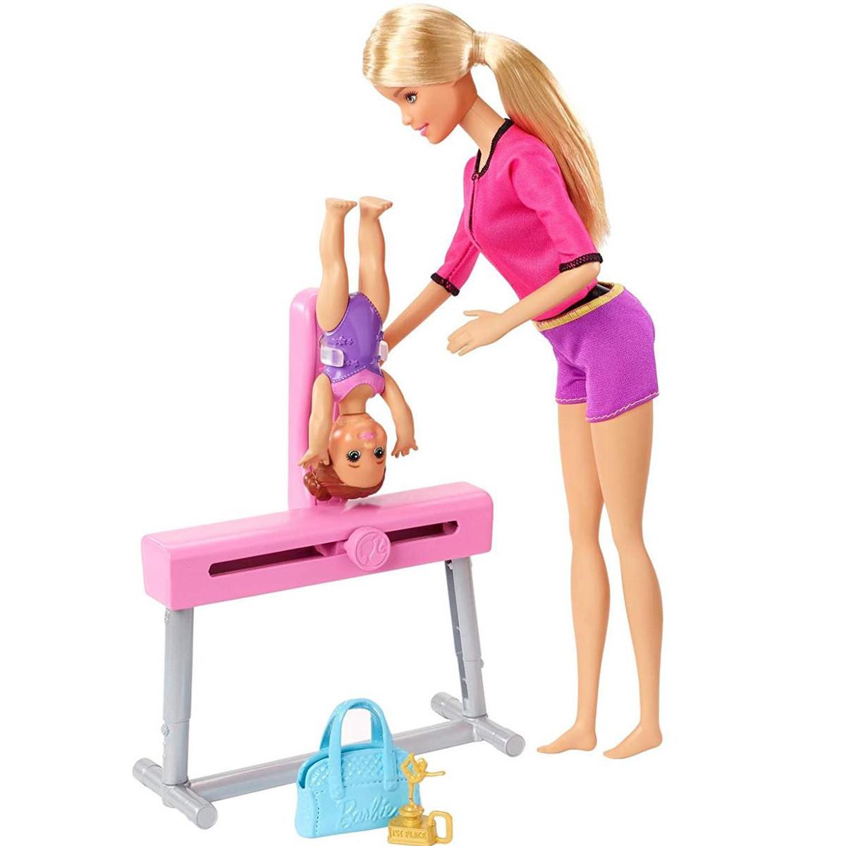 Кукла Барби Тренер по спортивной гимнастике - Barbie You can be Gymnastics Coach