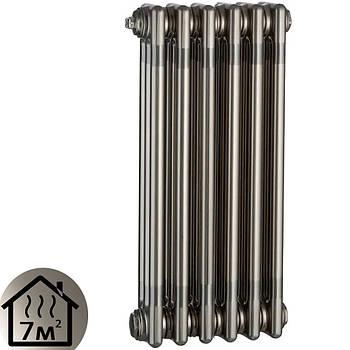 Дизайн-радиатор Charleston Retroit  6 секций (570х300) серый боковое подключение 342Вт Zehnder