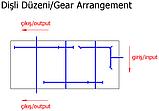 Редуктор для разбрасывателей навоза Di-San DS403, фото 4