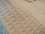 Вафельный Premium халат Luxyart Шаль, размер (42-44) S, 100% хлопок, белый (LP-038), фото 3