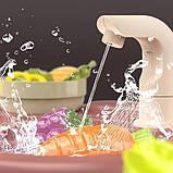 Велика дитяча кухня 889-211 з водою і пором, (світло, звук) 65 предметів, фото 4
