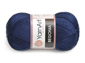 YarnArt Begonia, Темно-синий №66