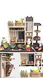 Большая детская кухня 889-211 с водой и паром, (свет, звук) 65 предметов, фото 2