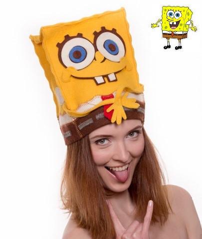 """Банна шапка Luxyart """"Боб"""", натуральний войлок, жовтий (LA-175)"""