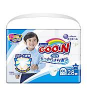 Трусики-підгузки GOO.N для хлопчиків 13-25 кг (розмір BigBig (XXL), 28 шт)